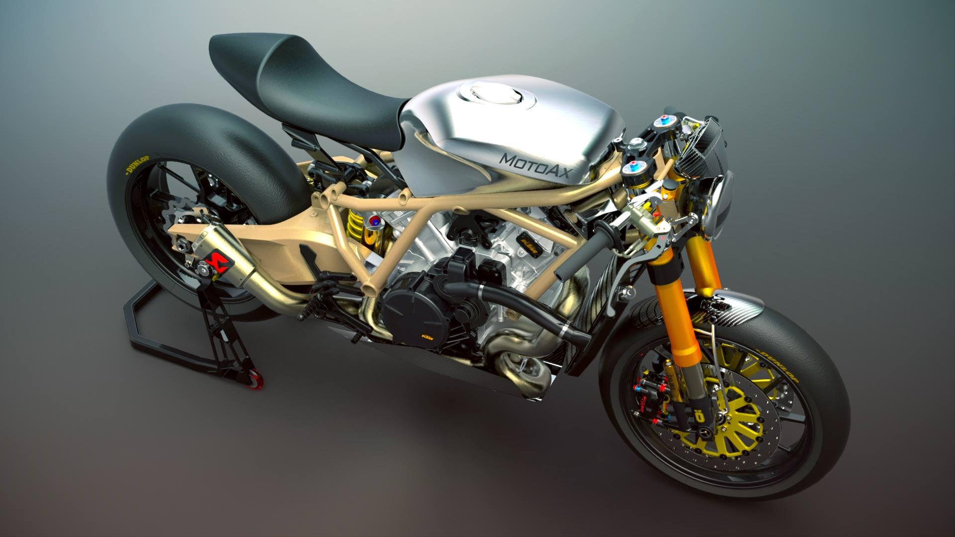 KTM のスーパースポーツRC8をネイキッドにすると。。。