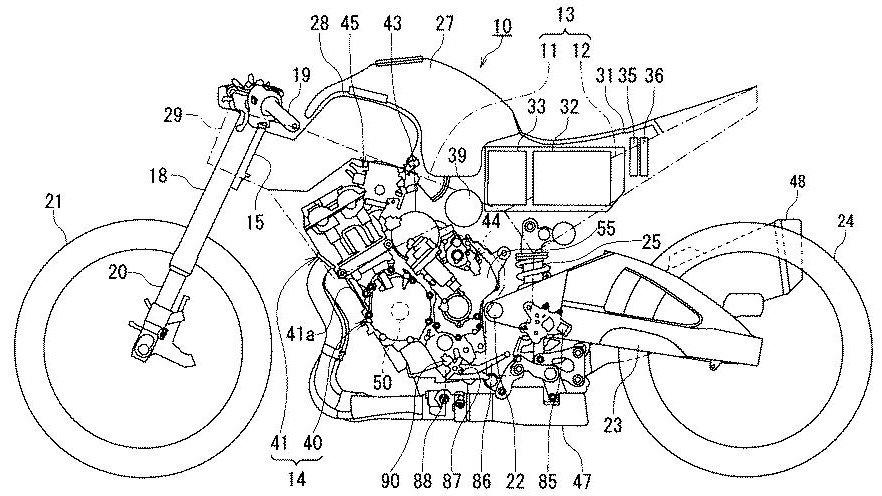 SUZUKI-Motorcycle-Hybrid-System-Patent