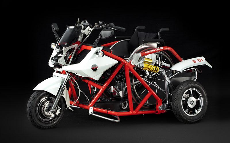 車椅子とバイクの可能性。