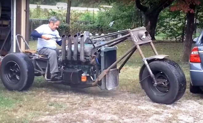 V8-engine-powered-custom-trike