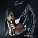 Predator-themed-motorcycle-helmets