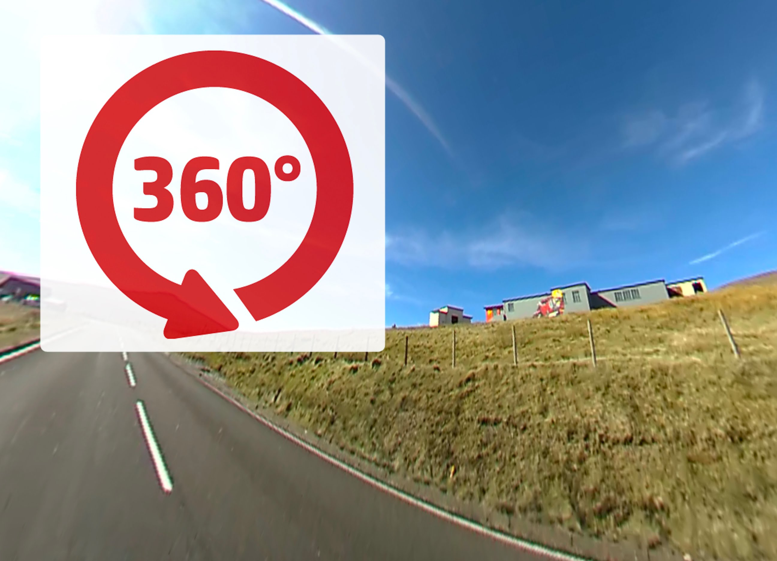 360度カメラ で マン島TT を撮るとこーなる。