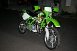 素敵な2stオフロード・バイク KAWASAKI KDX125!!