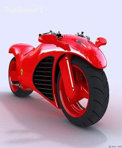 フェラーリ バイク のコンセプトモデルがあった!!