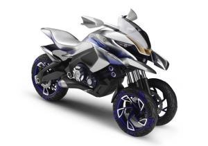 YAMAHA 01gen 新たな 3輪 バイクのコンセプトを発表!!