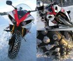 雪でもバイクに乗りたい。上級編