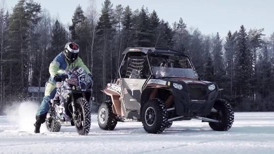 雪 でも バイク に乗りたい! 上級編②