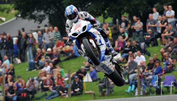 バイク が 飛ぶ !