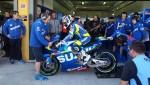 SUZUKI MotoGPマシン GSX-RR!着々と準備してます。