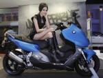 BMW 電気自動車 に バイク を使った一工夫。