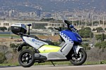 BMW電動バイク戦略の原点!? 電動ビッグスクーター「C Evolution」!!