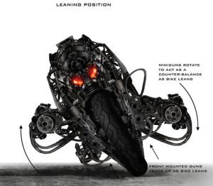 ターミネーターバイクにデザインを学ぶ。