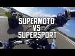 スーパースポーツとスーパーモタードどっちが速いの??