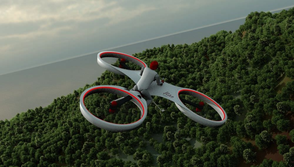 Flike-manned-aerial-vehicle