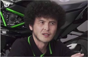 KAWASAKI H2R テストライダーのインタビュー映像が素敵過ぎる!!