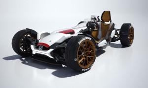 Hondaの作った2輪&4輪コラボフォーミュラーカーがすごい!!