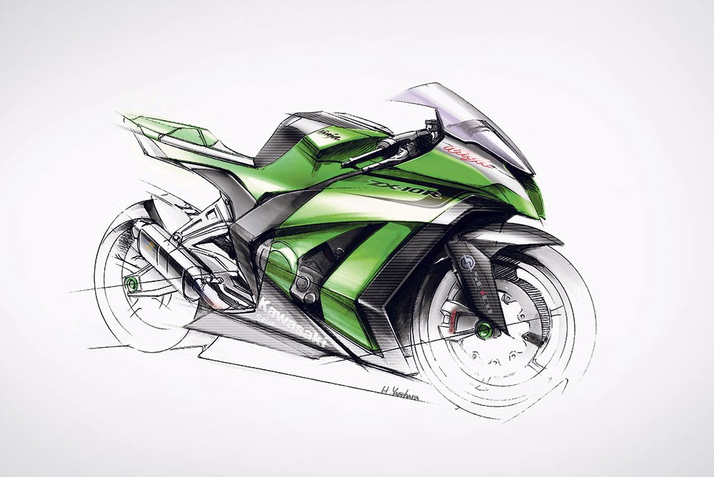 まもなく発表か!? ALL NEW KAWASAKI Ninja ZX10R!!