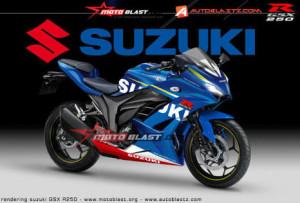 どさくさに紛れて SUZUKI GSX-R250 を開発中!?