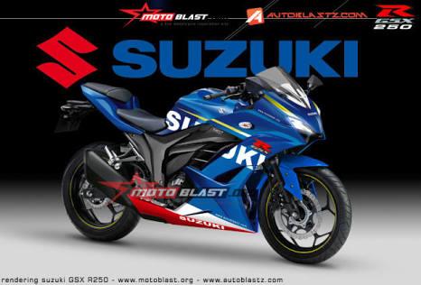 SUZUKI(スズキ) GSX250Rにかわり250cc本気モデルGSX-R250を開発中!?