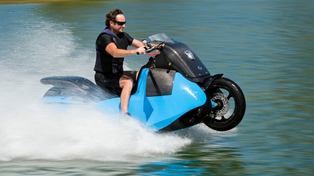 なんじゃこりゃ!? ジェットスキー バイク がすごい!!