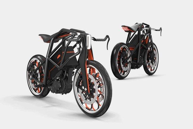 KTM 電動バイク のコンセプトがすごい!!