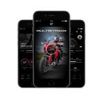 DUCATI が バイク と スマホ の通信アプリ開発してます。