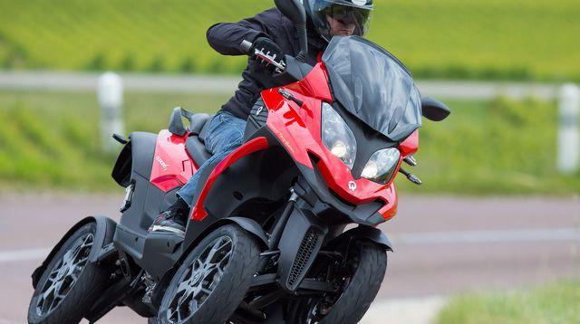 バギーじゃない!4輪スクーター? 四輪バイク? Quadro 4がすごい!