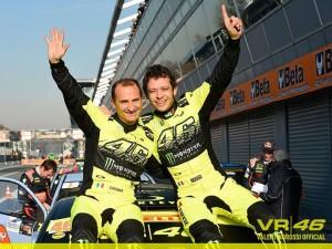 ロッシ ラリー モンツァで勝利!! クルマもバイクも速い奴!!