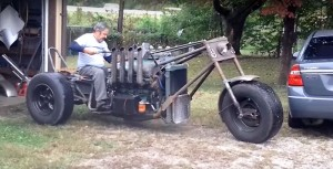 V8 バイク はいかが??笑