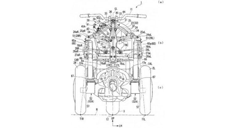 NC750 3輪バイク の可能性。