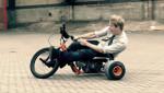 寒くてバイクに乗ってない方、 トライク でスライドトレーニング!笑