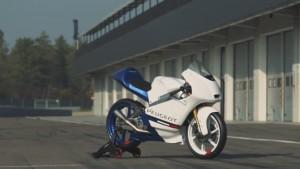 PEUGEOT MOTO3 レーサーを公開!!