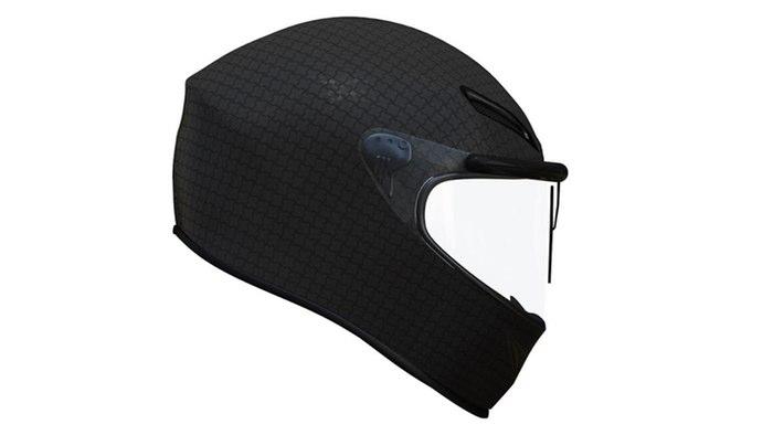 革新的な ヘルメット ワイパー の登場か!?