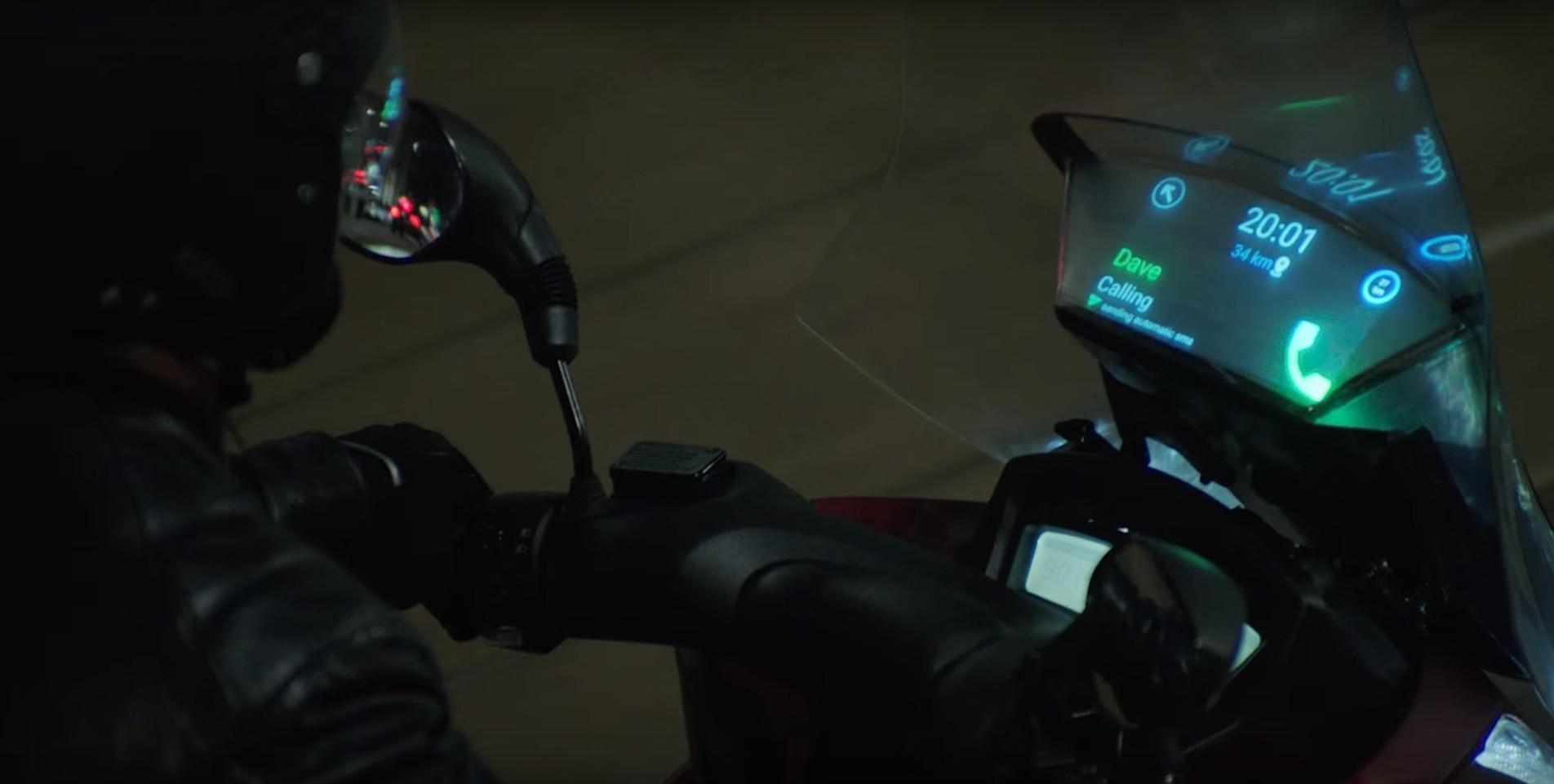 Samsung (サムスン) がバイク用 スクリーンディスプレイ を開発!