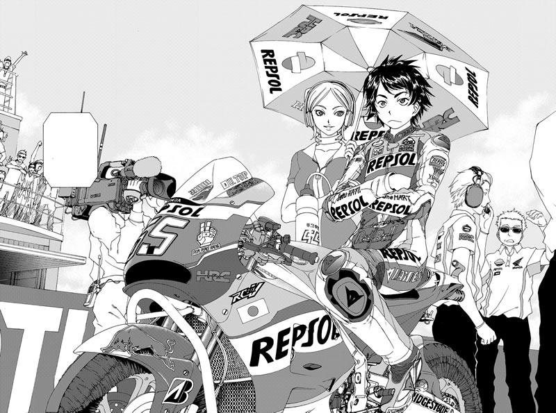 MOTO GP漫画「トップウGP」がスタート!
