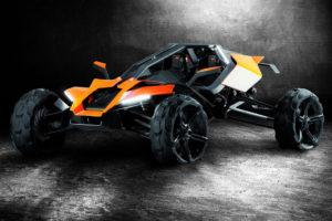 KTM X-BOW のオフロード版 AX Buggy Concept を公開!