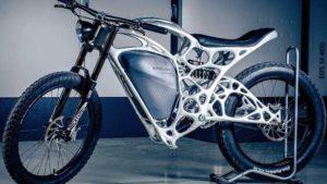 3Dプリンターならではの電動バイクがすごい!