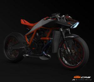 KTM CR8 コンセプトを公開!