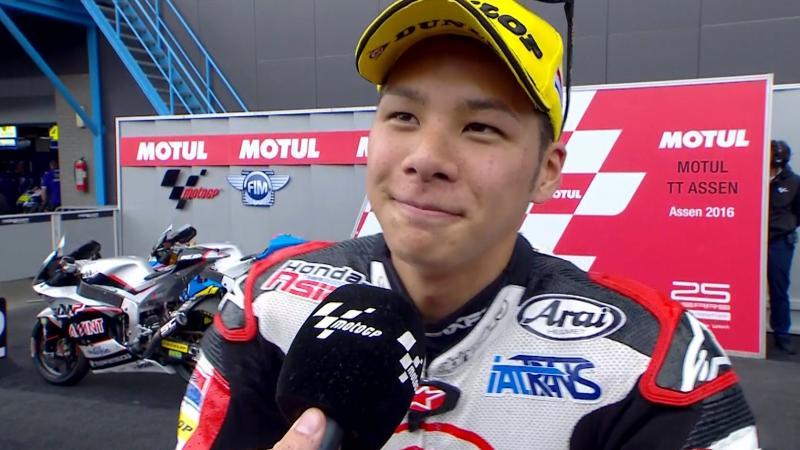 速報!MOTO GP TTアッセン(MOTO2) 中上選手が優勝!