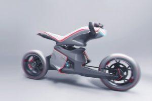 AUDIのぶっ飛びコンセプトバイク「XRoad Urban Adventure 」