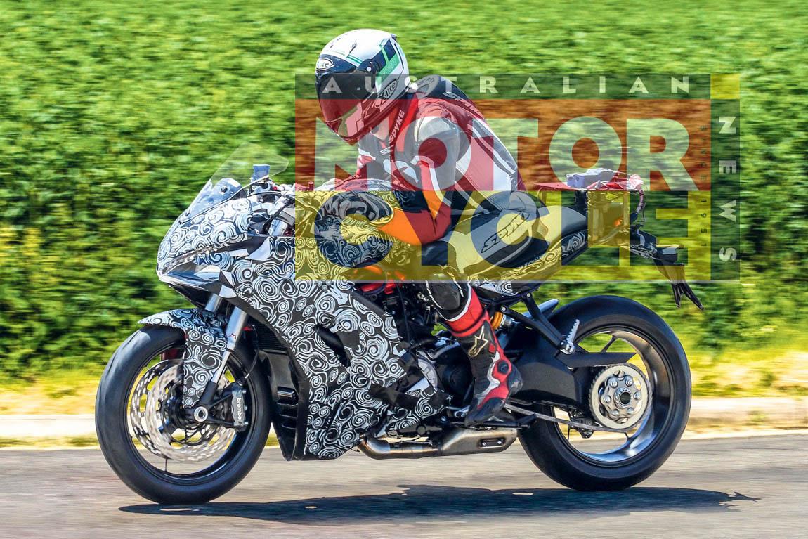 DUCATI スーパースポーツ系新コンセプトバイクの発表間近か?