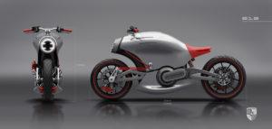 Porscheのバイク「Porsche 618」が衝撃のデザイン!