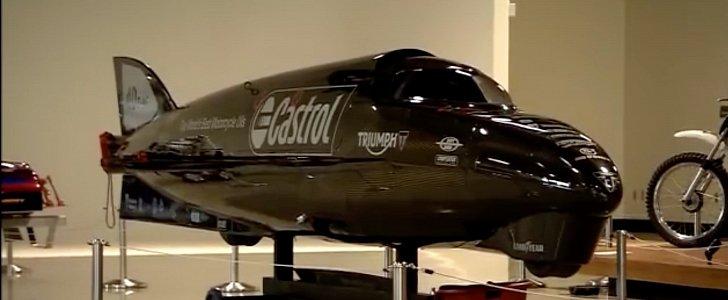 ガイ・マーティン ボンネビルで最高速記録更新!