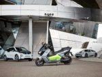 BMW C evolution 新型電動スクーターを公開!