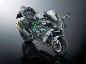 KAWASAKI Ninja H2 Carbon(カーボン)限定車を公開!