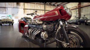 Lamborghini Espada V12エンジンでバイクを作ってみた。
