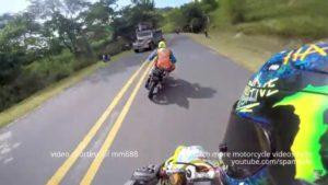 マン島TT よりも怖いフィリピン公道レース映像。