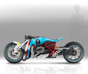 BMW R1200R Dragbike カスタムコンセプトがすごい!