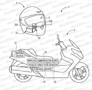 SUZUKI 独自のヘッドアップディスプレイを開発か?