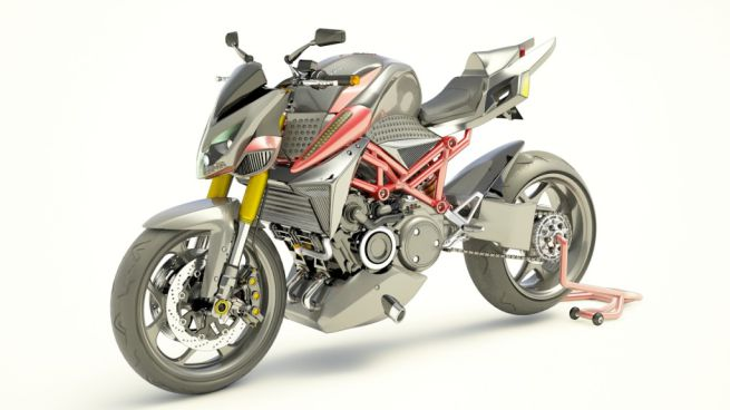 ロータリーエンジンのハイブリッドバイクコンセプトが登場!